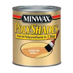 Minwax PolyShades Satin Classic Oak Stain & Polyurethane - 1/2 pt