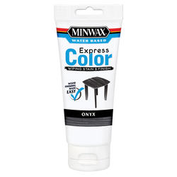 Minwax Express Color Onyx Wiping Stain & Finish - 6 oz