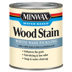 Minwax White Wash Pickling Wood Stain - 1 qt