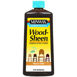 Minwax Wood-Sheen Manor Oak Rubbing Stain & Finish - 12 oz