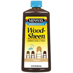 Minwax Wood-Sheen Natural Rubbing Stain & Finish - 12 oz