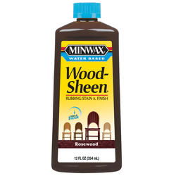 Minwax Wood-Sheen Rosewood Rubbing Stain & Finish - 12 oz