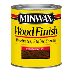 Minwax Dark Walnut Wood Finish - 1/2 pt