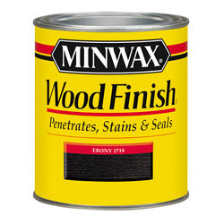 Minwax Ebony Wood Finish - 1/2 pt