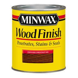 Minwax English Chestnut Wood Finish - 1/2 pt