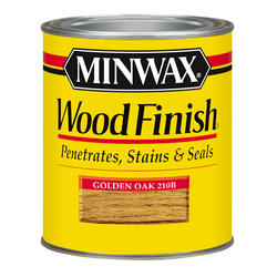 Minwax Golden Oak Wood Finish - 1/2 pt