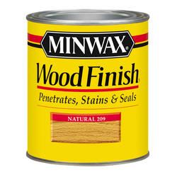Minwax Natural Wood Finish - 1/2 pt