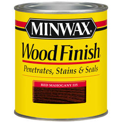 Minwax Red Mahogany Wood Finish - 1 qt