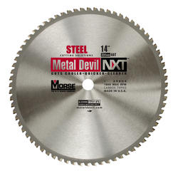 "14"" x 66 Tooth 1"" Arbor Circular Blade for Steel"