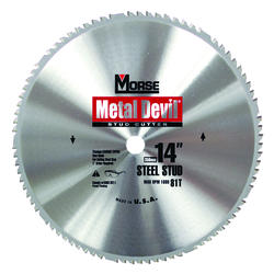"14"" x 81 Tooth Circular Blade for Stud Cut"