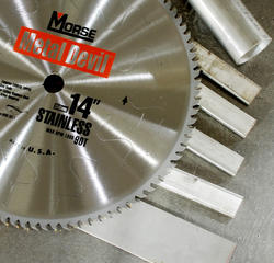 "14"" x 90 Tooth 1"" Arbor Circular Blade for Stainless"