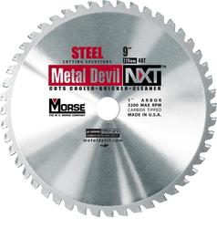 "9"" x 48 Tooth 1"" Arbor Circular Blade for Steel"