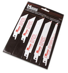 Bi-Metal Reciprocating Blade Assorted Pouch