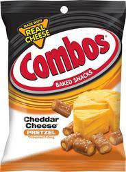 Combos Cheddar Cheese Pretzel Baked Snacks - 6.3 oz