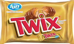 Twix Fun Size Caramel Cookie Bars - 11.4 oz