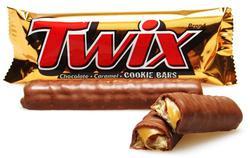 Twix King Size Caramel Cookie Bars - 3.02 oz