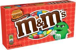 M&M's Peanut Butter Milk Chocolate Candies - 3.2 oz