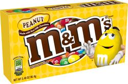 M&M's Peanut Milk Chocolate Candies - 3.4 oz