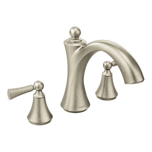 Moen Wynford 2-Handle Non Diverter Roman Tub Faucet TRIM