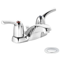 Moen Adler 2-Handle Bathroom Faucet with Drain Assembly