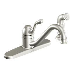 Moen Lindley Single Handle Low Arc Kitchen Faucet
