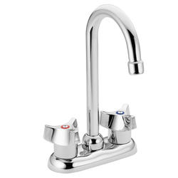 Moen Commercial 2-Handle Bar Faucet and Sink