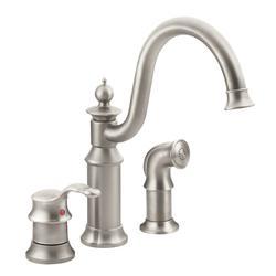 Moen Waterhill Single Handle High Arc Kitchen Faucet