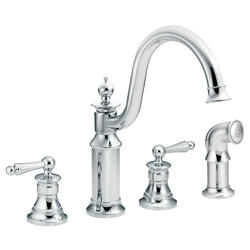 Moen Waterhill 2-Handle High Arc Kitchen Faucet