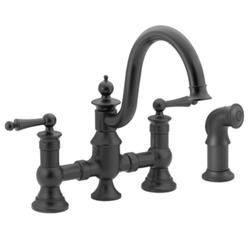 Moen Waterhill 2-Handle High Arc Kitchen Faucet