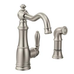 Moen Weymouth  Single Handle High Arc Kitchen Faucet