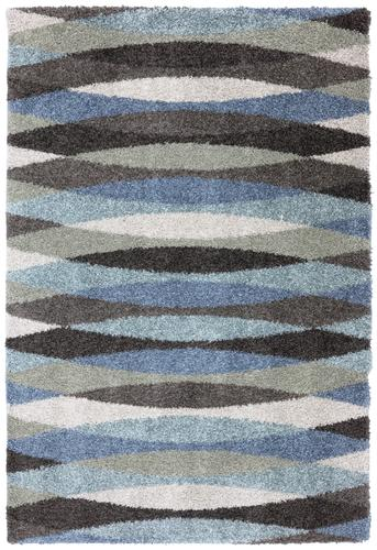 Mohawk Home Shag Elegance Collection Swirl Area Rug 8 X