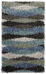 """Mohawk Home Shag Elegance Collection Swirl Accent Rug 1'8"""" x 2'10"""""""