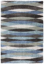 "Mohawk Home Shag Elegance Collection Swirl Area Rug 5'3"" x 7'6"""