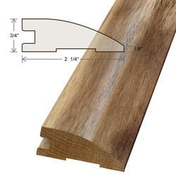 "Moldings Online Acacia Reducer Hardwood Trim 48"""