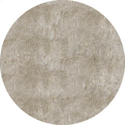 Designers Image Glimmer Shag Collection Area Rug 4' x 4' Round