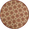 "Designers Image Terrace Collection Area Rug 9'0"" x 9'0"" Round"
