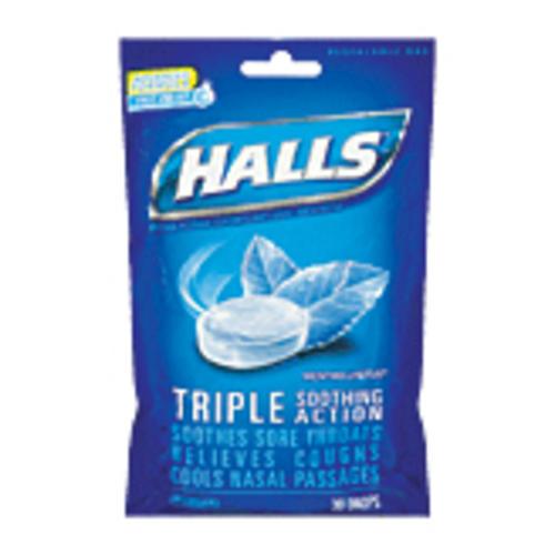 halls triple soothing action mentho lyptus cough drops 30 ct at menards. Black Bedroom Furniture Sets. Home Design Ideas