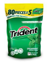 Trident® Spearmint Gum - 18 pc.