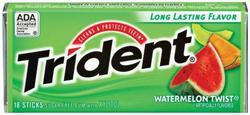 Trident® Watermelon Twist® Gum - 18 pc.