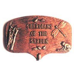 Guardians of the Garden Garden Plaque