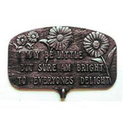 Bright to Everyone's Delight Garden Plaque