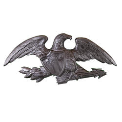 "23"" Deluxe Wall Eagle (Swedish Iron)"