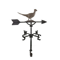 "32"" Weathervane - Pheasant Ornament (Swedish Iron)"