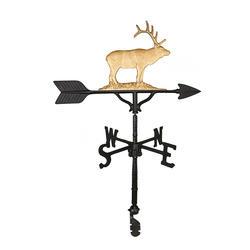 "32"" Weathervane - Elk Ornament (Gold Bronze)"
