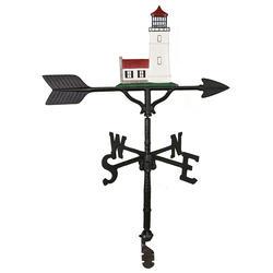 "32"" Weathervane - Cottage Lighthouse Ornament (Natural Color)"