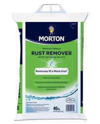 Morton Rust Remover Water Softening Pellets - 40 lb