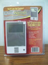 Non-Programmable Thermostat With Floor Sensor For Quiet Warmth Underlayment