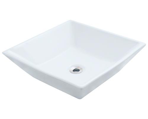 White Porcelain Vessel Sink At Menards