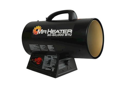 Mr Heater 60 000 Btu Portable Forced Air Propane Heater