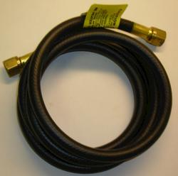 "Mr. Heater 6' Hose (1/4 ID 6' Long 3/8 Female Flare 3/8 Female Flare) connects an existing gas line to appliances equipped with 3/8"" male flare."